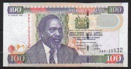 529-Kenya Billet De 100 Shillings 2004 BW513 Neuf - Kenya