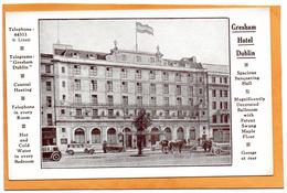 Dublin Ireland Gresham Hotel 1910 Postcard - Dublin