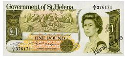 SAINT HELENA 1 POUND ND(1981) Pick 9a Unc - Saint Helena Island