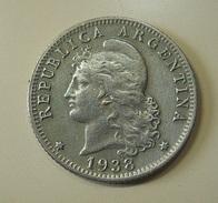 Argentina 20 Centavos 1938 - Argentine