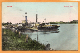 Osijek Croatia 1912 Postcard Mailed - Croatie