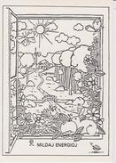(AKE 123) Esperanto Card From France - Mild Energy - Mildaj Energioj - 1983 - Esperanto