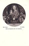 Aandenken Priesterwijding Te Leuven En Plechtige Eremis Te Huizingen - Pastoor Borremans - Dominikaan - 1942 - Images Religieuses