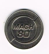 ) TOKEN  CINCINNATI MILACRON  80 MACH - Professionals/Firms