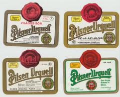 Bier Label Pilsner Urquell (from Czech Republic) - Bier