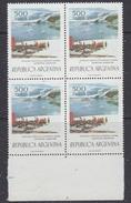 Argentina 1977 Base Almirante Brown 1v Bl Of 4  ** Mnh (35600D) - Ongebruikt