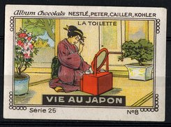 Nestlé - 25 - Vie Au Japon, Life In Japan - 8 - La Toilette - Nestlé