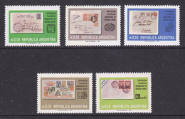 Argentina 1985 Philatelic Exhibition Argentina '85 5v ** Mnh (35601) - Ongebruikt