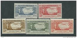 Soudan P.A. N° 1 / 5 XX  La Série Des 5 Valeurs Sans Charnière TB
