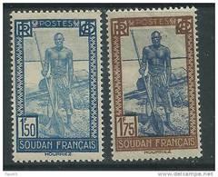 Soudan N° 81 / 82  XX  Les 2  Valeurs Sans Charnière TB