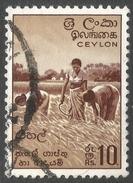 Ceylon. 1958-62 Definitives. Redrawn Inscriptions, 10r Used. SG 465 - Sri Lanka (Ceylon) (1948-...)
