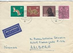 Germany - Airmail Cover. Sent To Denmark 1967.  H-1127 - [7] République Fédérale
