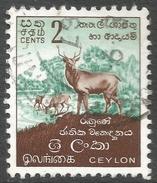 Ceylon. 1958-62 Definitives. Redrawn Inscriptions, 2c Used. SG 448 - Sri Lanka (Ceylon) (1948-...)