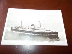B660  Nave Paquebot S.n.c.f. Costa Azzurra Cm13,5x9 Non Viagg. - Barche