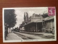 Cpa 86 Montmorillon La Gare - Mortagne Au Perche