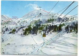 SESTRIERE M. 2035 - Funivia Monte Sises M. 2650 - Piste - Italia