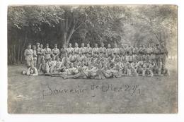 Carte Photo De Soldats Du 150° Régiment D'infanterie  à DIEZ En Allemagne -   - L 1 - Regimenten