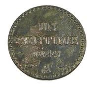 Un Centime - France - 1849 A - 2è République - Bronze - TB+ - - 1789-1795 Monnaies Constitutionnelles