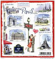 France BF N° F 4514 ** Capitale - Ville - Paris - Blocs & Feuillets