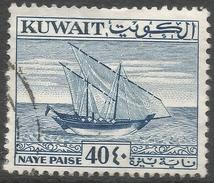 Kuwait. 1961 New Currency. 40f Used. SG 156 - Kuwait