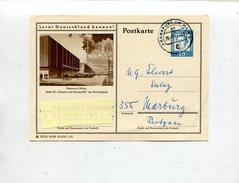 Bundesrepublik Deutschland / 1963 / Bildpostkarte HANNOVER-MESSE O Frankfurt (10165) - Cartes Postales Illustrées - Oblitérées