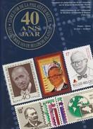 LIVRE D OR DE LA PHILATELIE BELGE 40 ANS De L Académie  229 Pages Pro Post - Philatélie Et Histoire Postale
