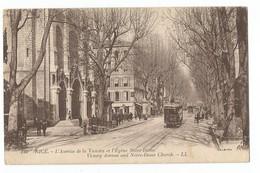 Nice L'Avenue De La Victoire Et L'Eglise Notre Dame - Autres