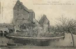 - Nord - Ref -A696-  Preseau - Chateau Construit Par Le Duc De Croy - Chateaux - Carte Bon Etat - - Otros Municipios
