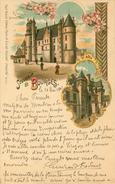 Souvenir De Bourges éditeur Kunzli Voyagée En 1901 - Bourges