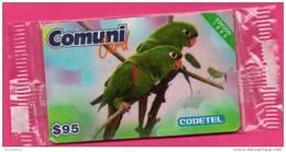 Dominicaine (Rép.)(1995) Codetel Comuni- C4a(?)-NSB- $95 El Perico /Edition 1995/ (exp.31/01/1996)non Signalée
