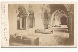 CDV - FONTEVRAULT, 49 - J. Le Roch, SAUMUR - 2 Scans - Ancianas (antes De 1900)