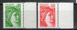 1970**-1972** Premier Tarif Lent/rapide Sabine_bord De Feuille - 1977-81 Sabine De Gandon