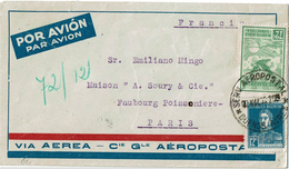 LCTN47/4- ARGENTINE LETTRE AEROPOSTALE MAI 1930 - Briefe U. Dokumente