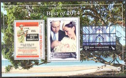 Nvlle Zélande - Best Of 2014 - ANZAC WWII - Royal Visit - Matariki ** - Blocs-feuillets
