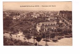 78 Aubergenville Elisabethville Sur Seine Panorama Coté Ouest - Aubergenville