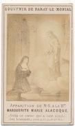 CDV - Marguerite Marie Alacoque, Apparition De N.D. , Paray Le Monial - 2 Scans - Photos