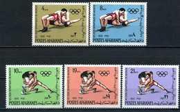 Afghanistan YT 957-961 XX/MNH Jeux Olympiques 1972 Munich Munchen - Afghanistan