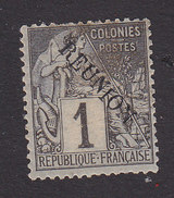Reunion, Scott #17, Mint Hinged, French Stamp Overprinted, Issued 1891 - Réunion (1852-1975)