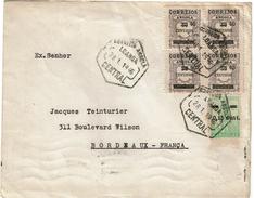 LCTN47/4- ANGOLA  LETTRE POUR BORDEAUX 28/1/1946 - Angola
