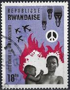 Rwanda 1966 - Fight Against Nuclear Arms ( Mi 182 - YT 172 ) - Rwanda