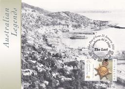 Australia 2000 Anzac Cove Maximum Card Sent To Italy - Maximum Cards