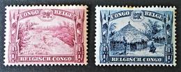 EMISSIONS 1931 - NEUFS * - YT 170/71 - Congo Belge
