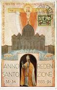 LCTN47/4- VATICAN ANNO SANTO 1933 - Lettres & Documents