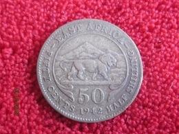 British East Africa: 50 Cents 1942 (rare) - Colonie Britannique