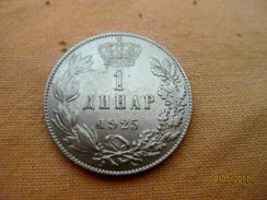 Serbie (Yougoslavie) 1 Dinar 1925 - Serbie