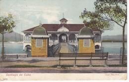 POSTAL DE SANTIAGO DE CUBA DEL CLUB NAUTICO  (CUBA) - Cuba