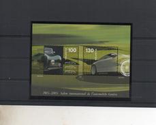 SALON INTERNATIONAL AUTOMOBILE  BLOC    N° YVERT ET  TELLIER  38   NEUF SANS CHARNIERE - Blocks & Sheetlets & Panes