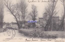 CPA De CHEPNIERS   (17) - L' EGLISE - 1904 -  Cliché FRANCES - Andere Gemeenten