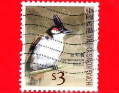 HONG KONG - Usato - 2006 - Uccelli - Red Whiskered Bul Bul - Birds - 3 - 1997-... Regione Amministrativa Speciale Della Cina