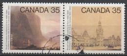 CANADA  N°730/731__OBL  VOIR SCAN